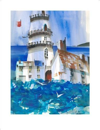 Fisherman's Blues by Sue Howells - Limited Edition art print SHE013