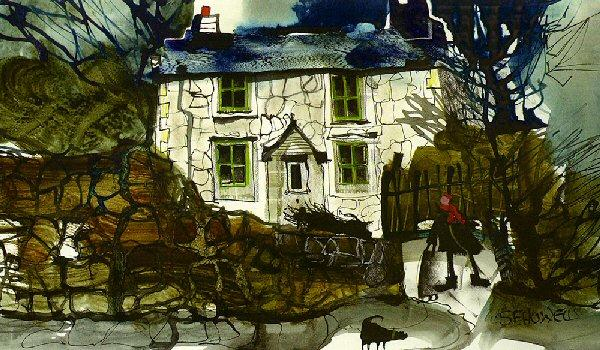 Off Out Again by Sue Howells - art print