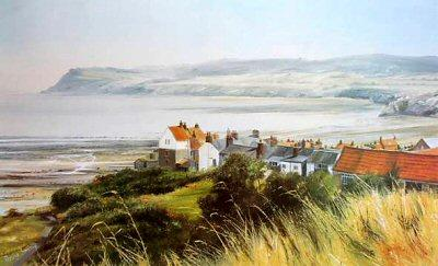 Robin Hoods Bay by Robin Smith - landscape art print
