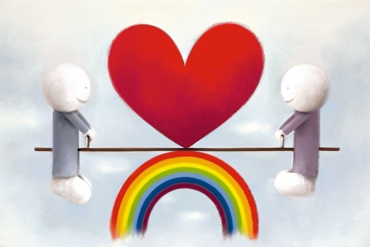 Love From a Distance by Doug Hyde - Limited Edition art print ZHYD707