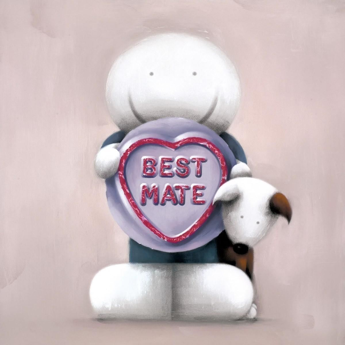 Best Mate by Doug Hyde - Limited Edition art print ZHYD722