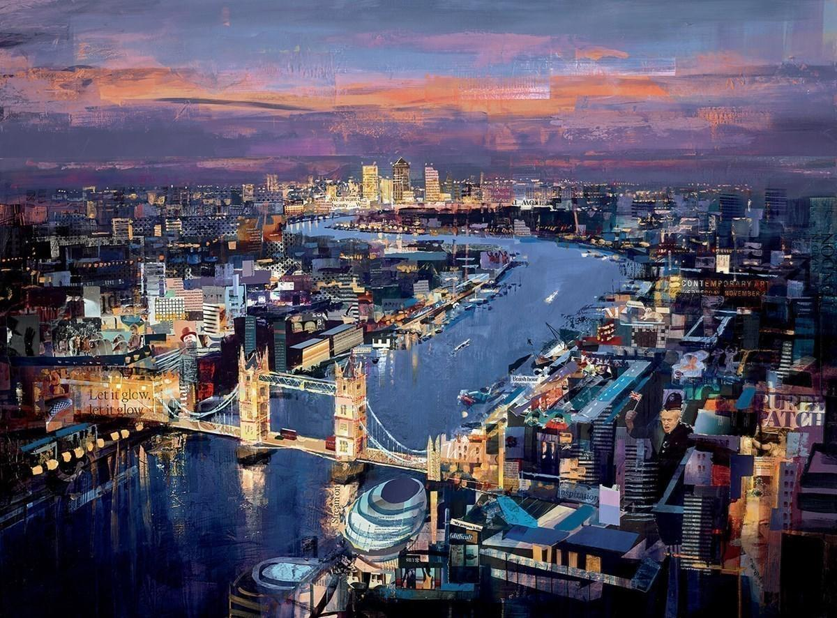 London Calling by Tom Butler - Limited Edition art print LBTL052