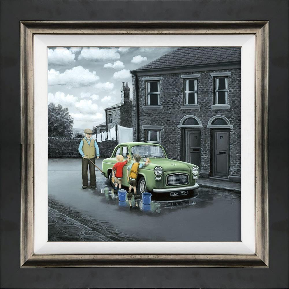 Don't Forget them Wheels by Leigh Lambert - canvas art print LLE128C