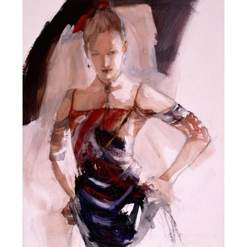 No Doubt by Christine Comyn - canvas art print CCE004C