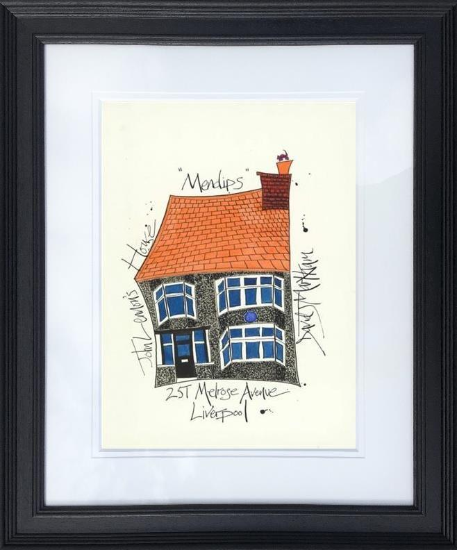 John Lennon's House by Dave Markham - Limited Edition art print DME012