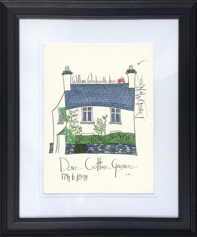 William Wordsworth's House by Dave Markham - Limited Edition DME004