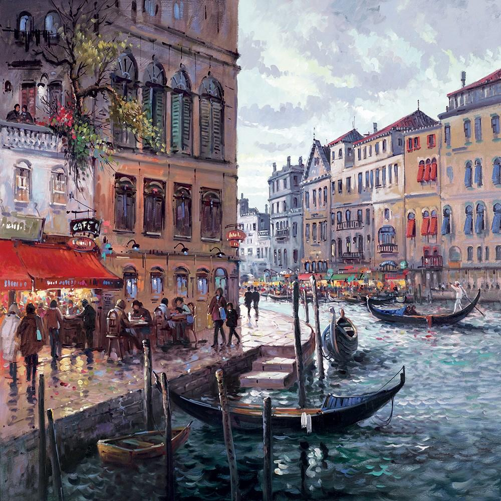 Dreaming Of Venice by Henderson Cisz - canvas art print ZCIS199