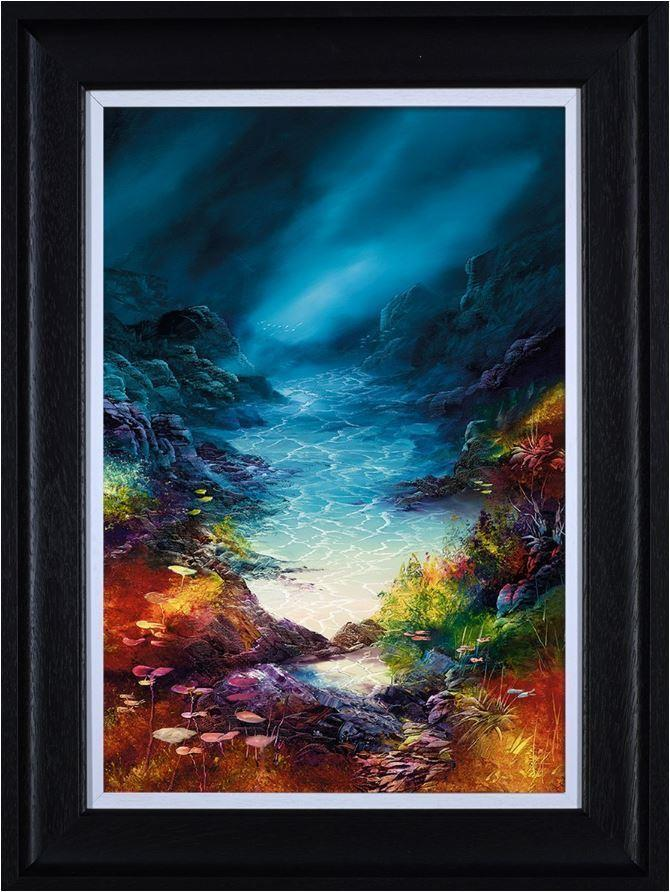Into the Blue by Philip Gray - canvas landscape art print ZGRP083