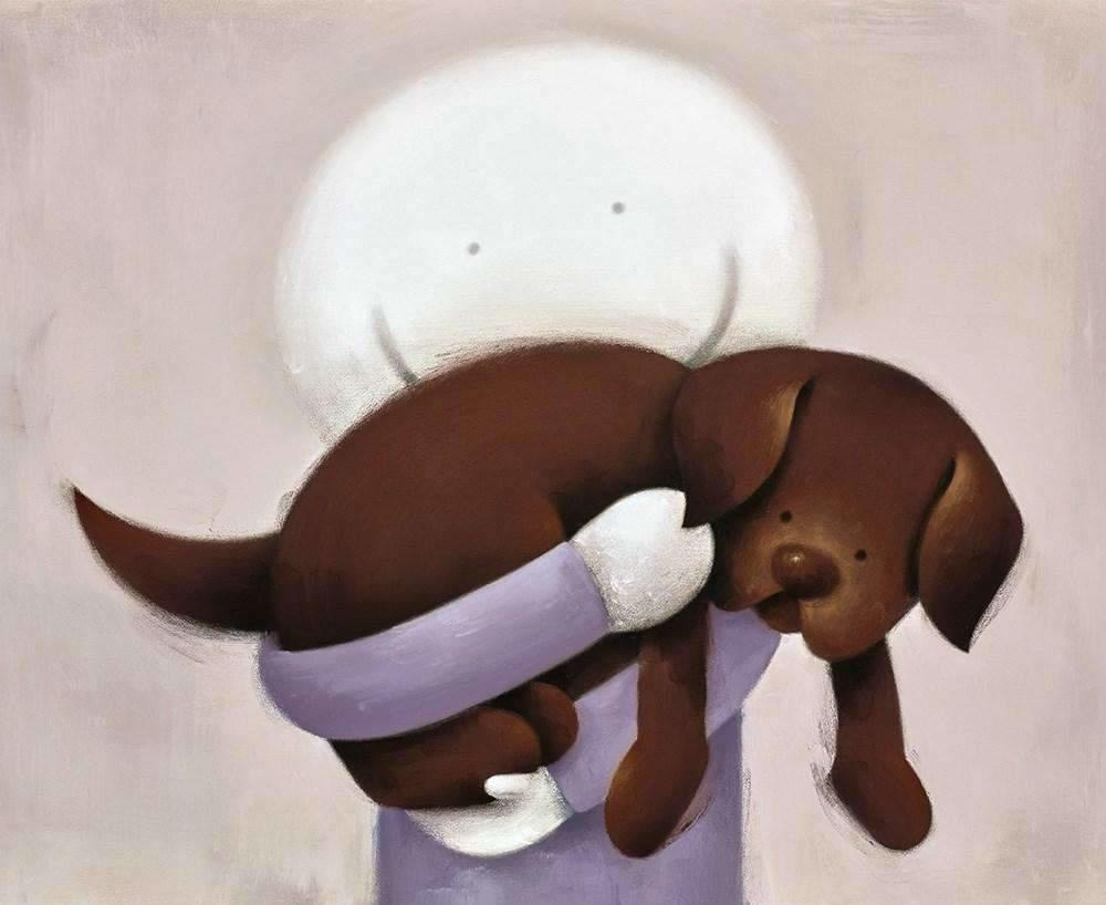 Love Hug by Doug Hyde - Limited Edition art print ZHYD665