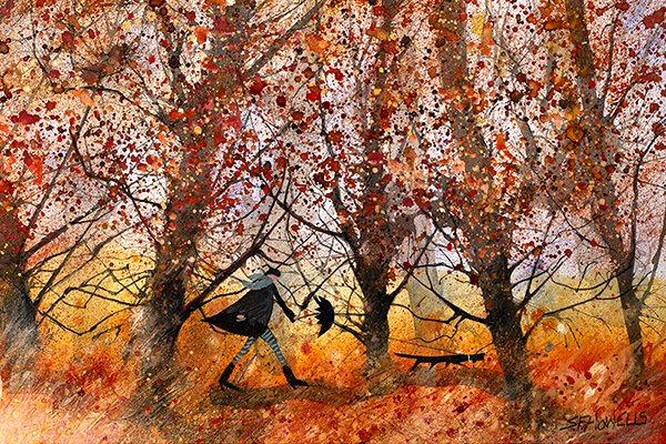 Our Favourite Time of Year by Sue Howells - original painting