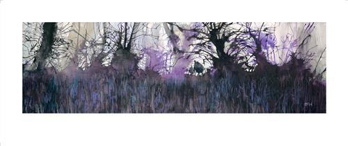 Bluebells Galore by Sue Howells - Limited Edition art print SHE011