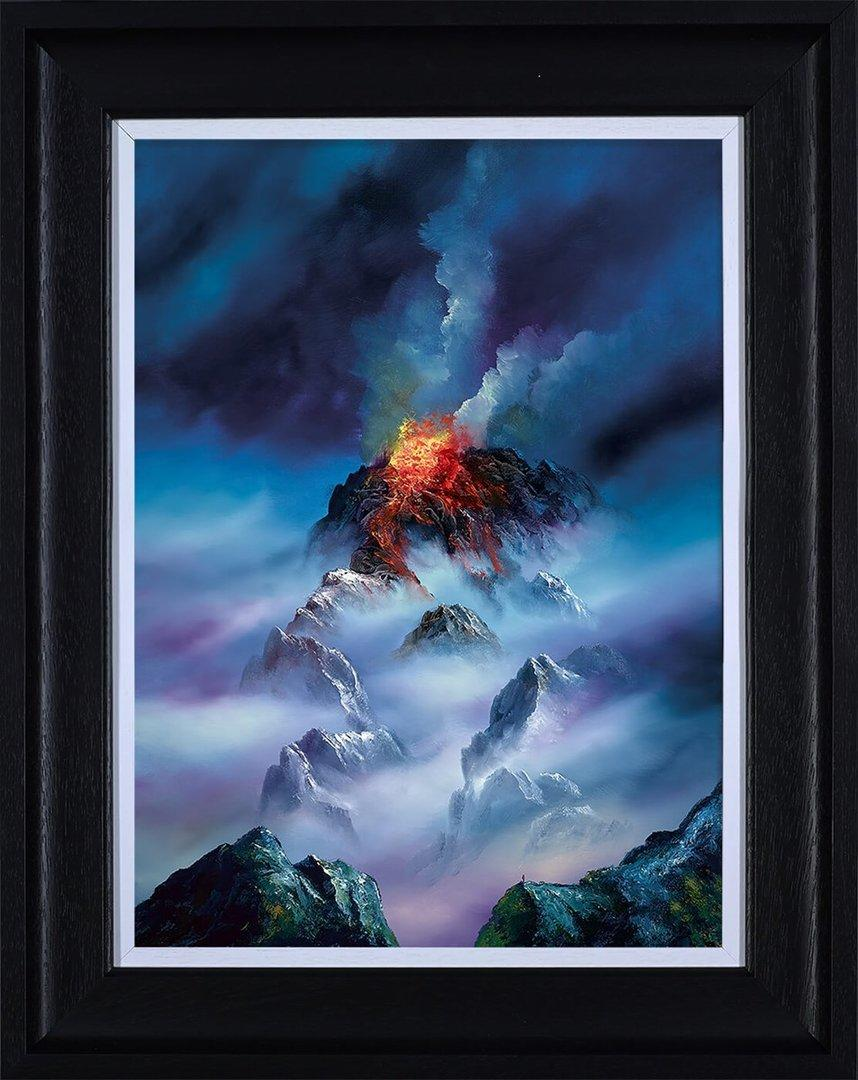 Blazing Clouds by Philip Gray - canvas landscape art print ZGRP095