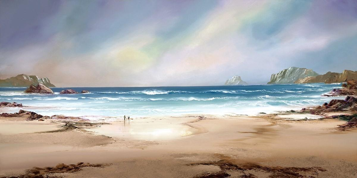 Peaceful Shores by Philip Gray - canvas landscape art print ZGRP091