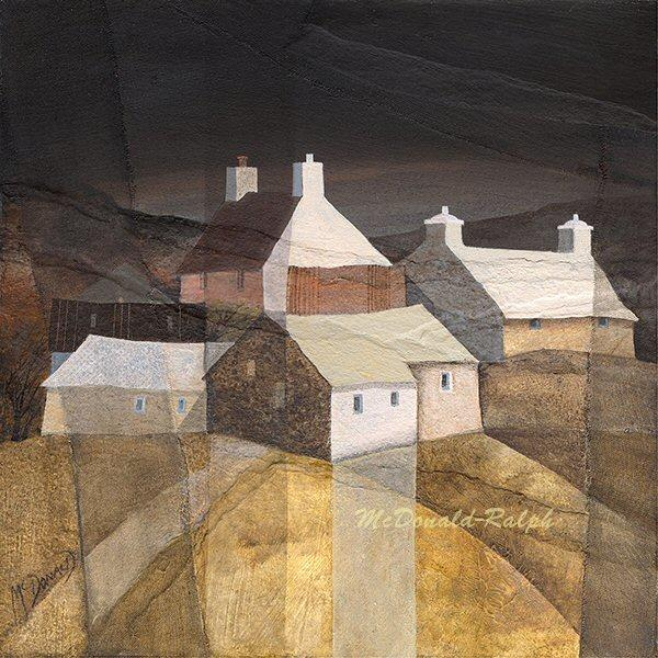 Farm II by Gillian McDonald - landscape art print