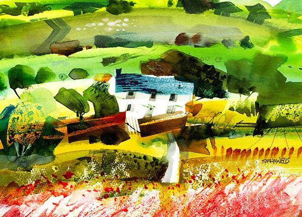 Home Farm by Sue Howells - original painting