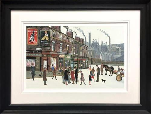 Pit Scene by Allen Tortice - Limited Edition art print ATE0001P