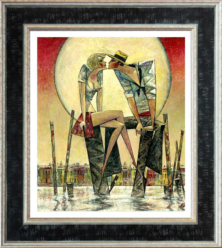 Lunar Love (small) by Andrei Protsouk - canvas art print APE034S