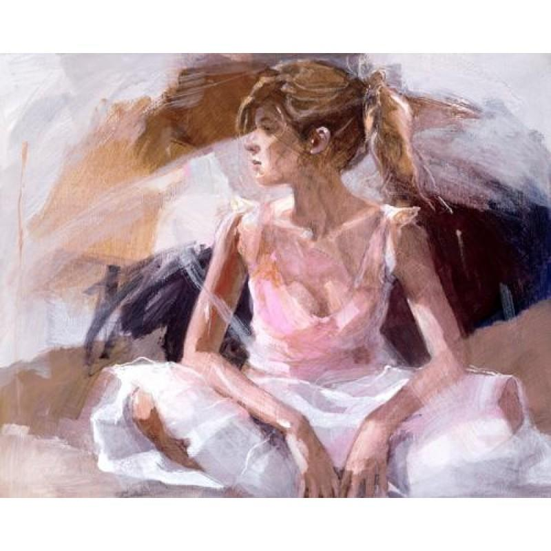 On the Threshold by Christine Comyn - canvas art print CCE018C