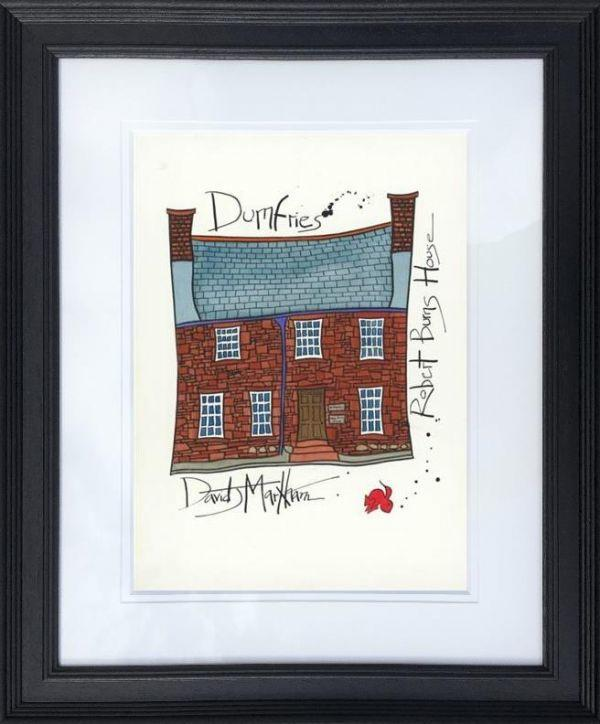 Robert Burns' House by Dave Markham - Limited Edition art print DME015