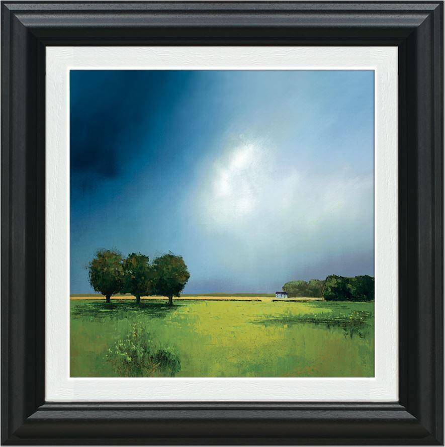 Green Fields of Home by Barry Hilton - Limited Edition print ZHLT025