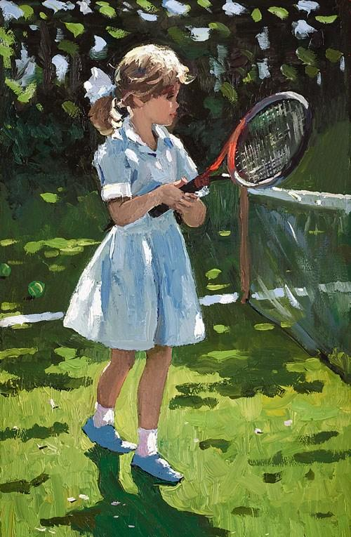 Playful Times I by Sherree Valentine Daines - canvas art print ZDAI212