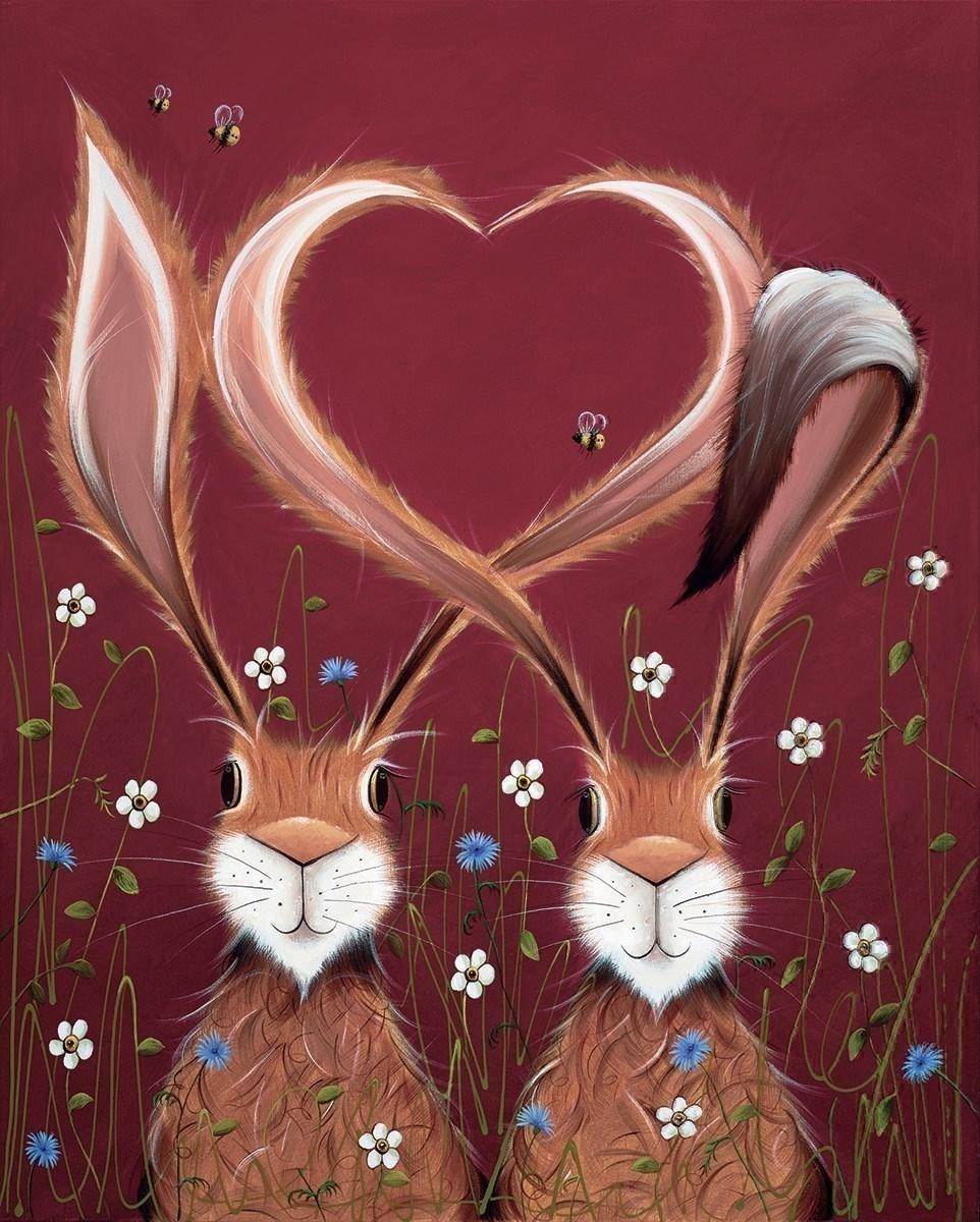 Share the Love by Jennifer Hogwood - canvas art print LHOJ065