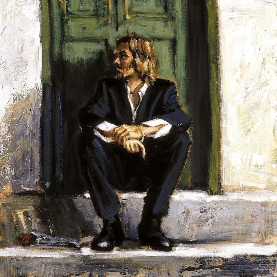 Waiting for the Romance to Come Back I by Fabian Perez LPEZ1251