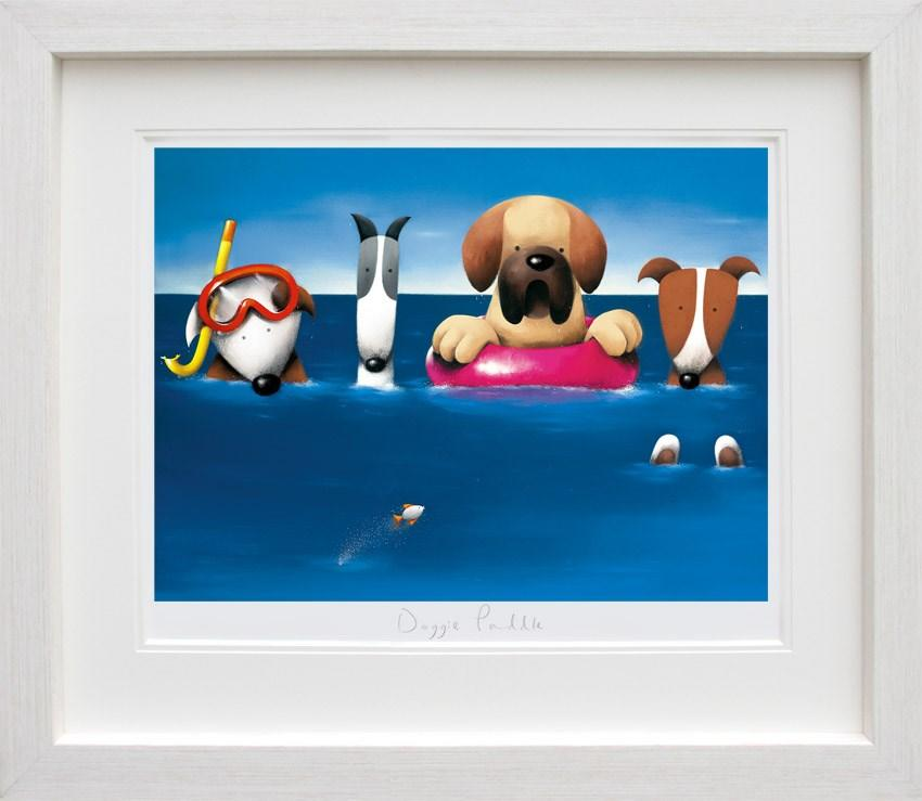 Doggie Paddle by Doug Hyde - Limited Edition art print ZHYD592