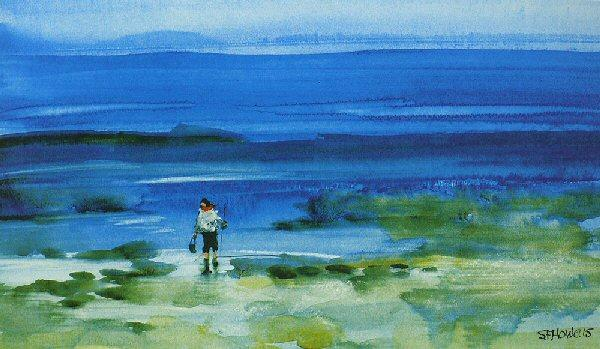 Searching for Crabs by Sue Howells - art print