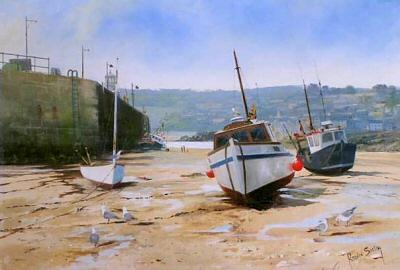 St Ives, Cornwall by Robin Smith - landscape art print