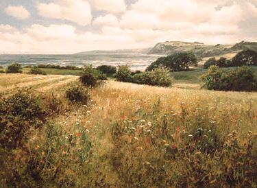 I See the Sea by David Dipnall - landscape art print