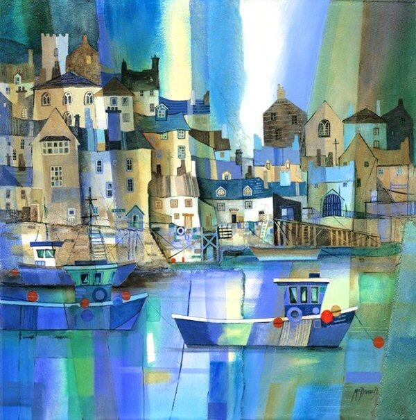 Dartmouth VII by Gillian McDonald - landscape art print