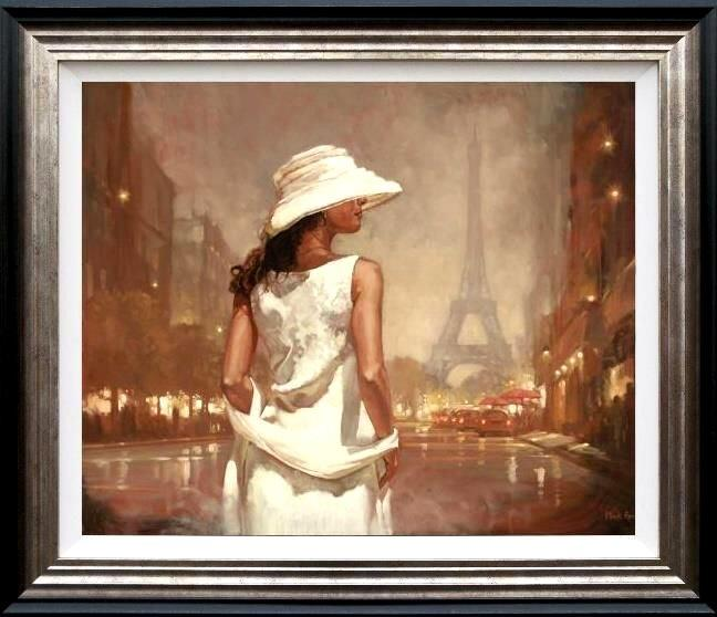An Evening in Paris by Mark Spain - Limited Edition art print MSE012