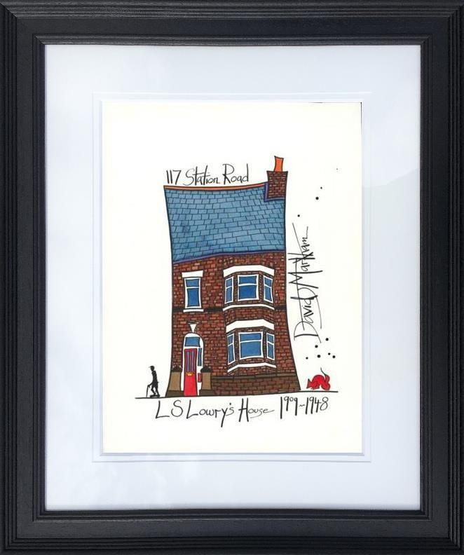 L S Lowry's House by Dave Markham - Limited Edition art print DME010