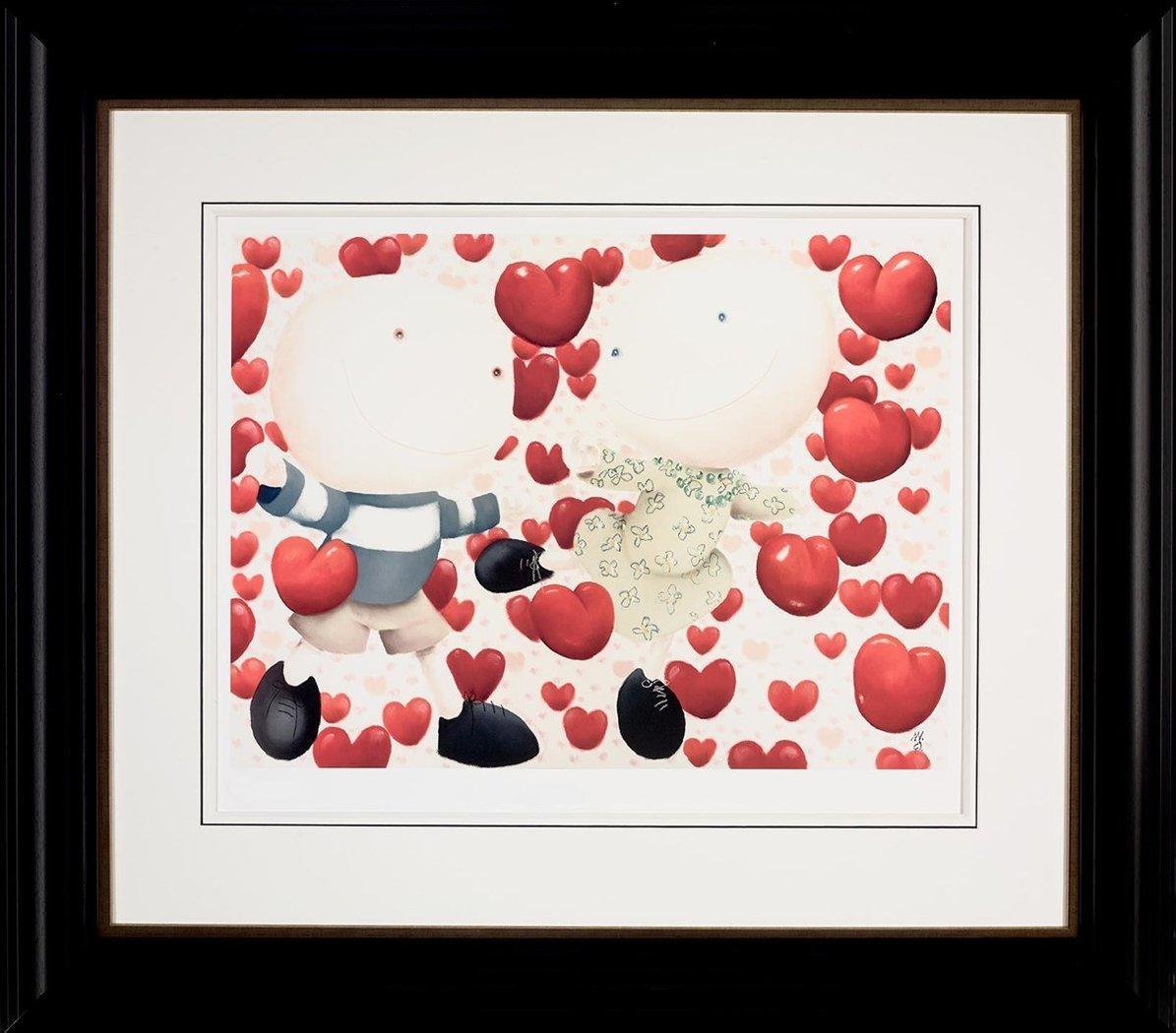Dancing in Love by Mackenzie Thorpe - Limited Edition print LTHP007