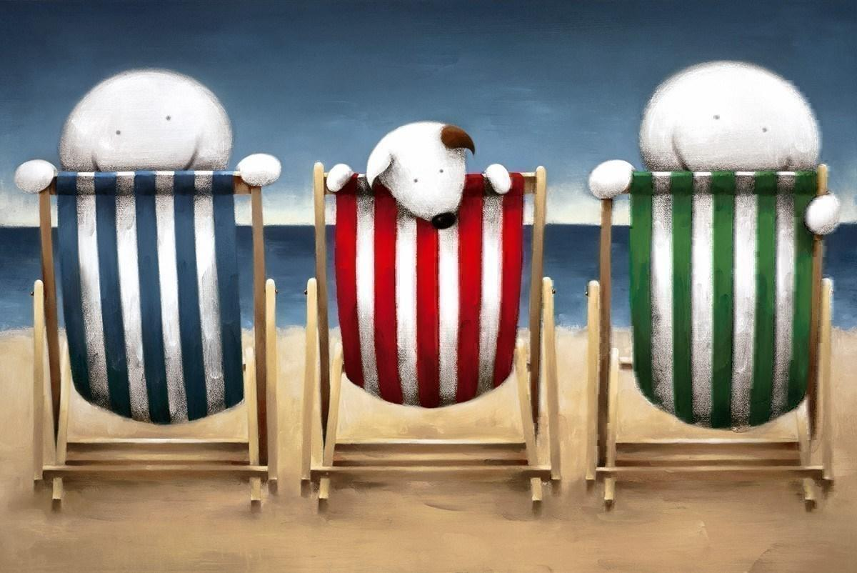 Beside the Seaside by Doug Hyde - Limited Edition art print ZHYD679
