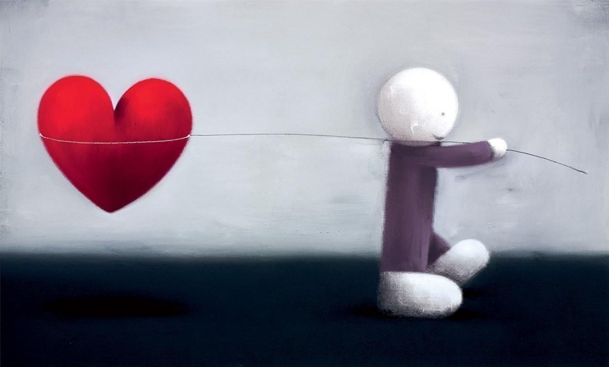 Caught Up In Love by Doug Hyde - Limited Edition art print ZHYD694