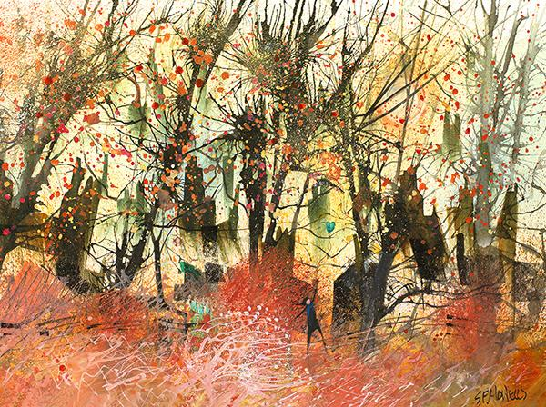 Autumn Lover by Sue Howells - Limited Edition art print