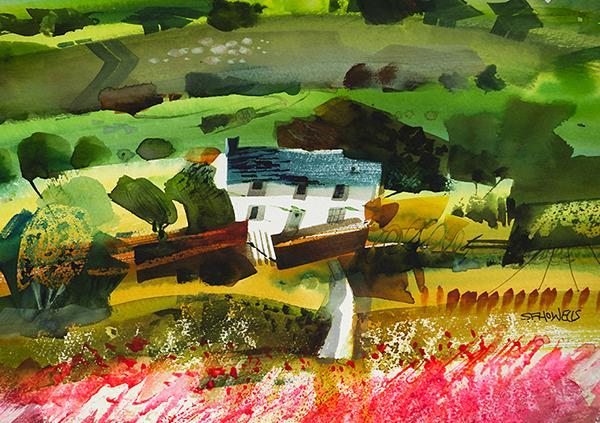 Home Farm by Sue Howells - Limited Edition art print