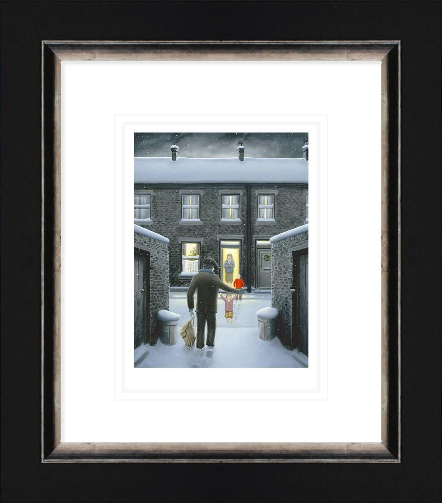 Home for Christmas by Leigh Lambert - Limited Edition print LLE175P