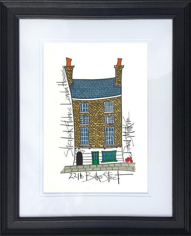 Sherlock Holmes' House by Dave Markham - Limited Edition print DME006