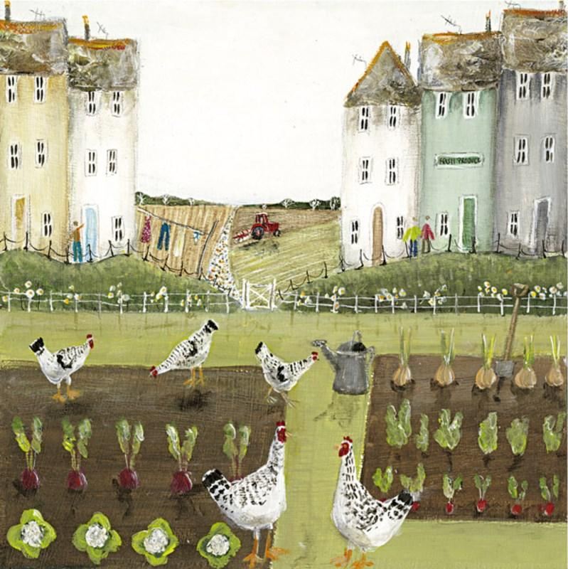 Hen Party by Rebecca Lardner - Limited Edition art print ZLAR118