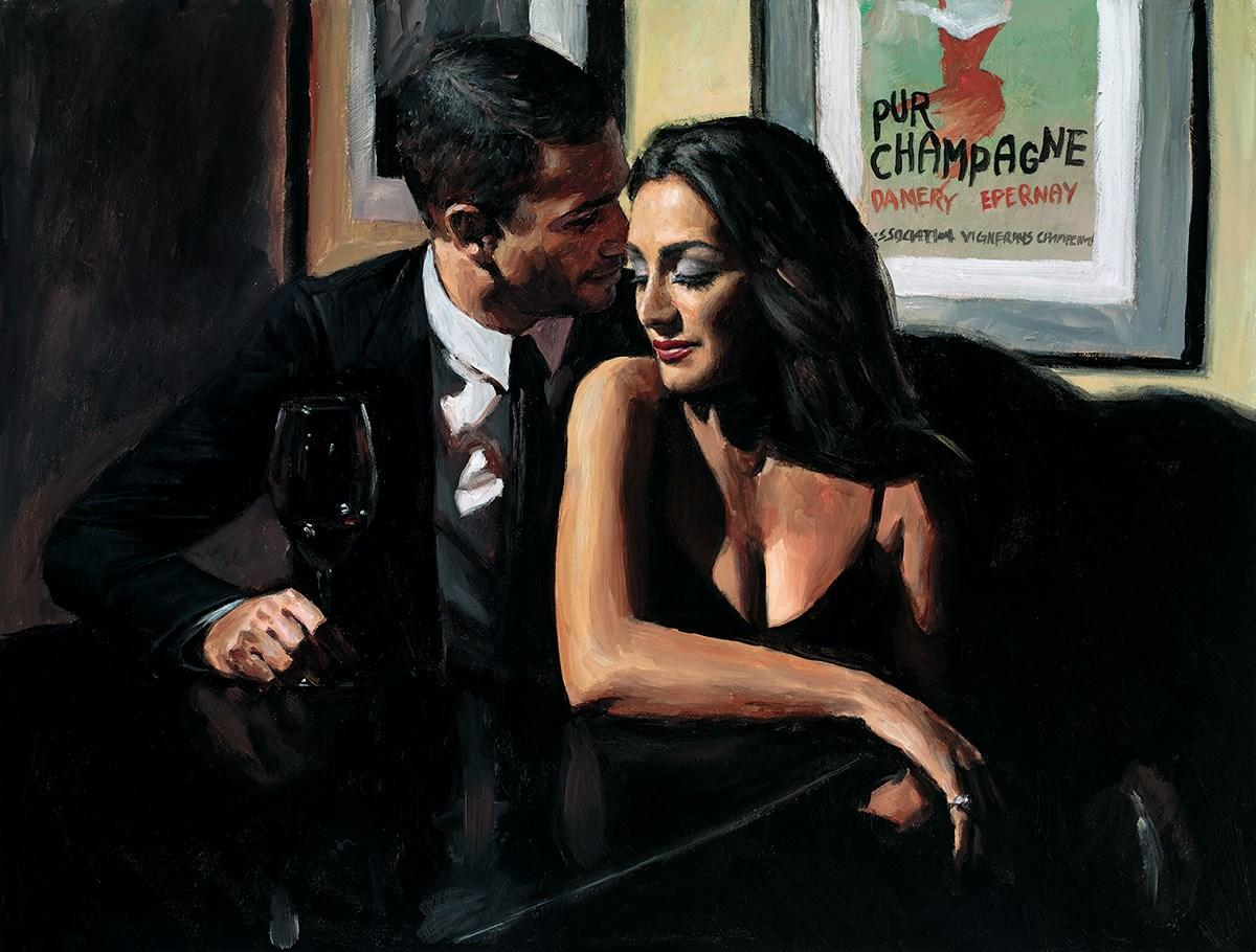 Proposal at Hotel Du Vin by Fabian Perez - canvas art print LPEZ1295