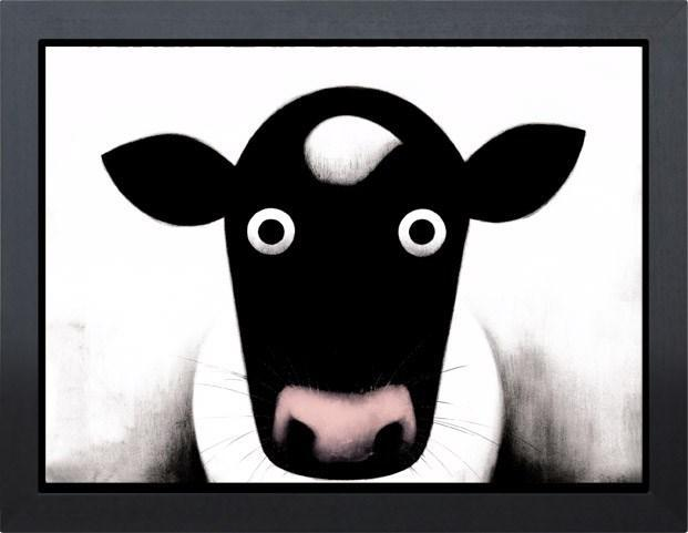 Moo by Doug Hyde - Limited Edition art print ZHYD427