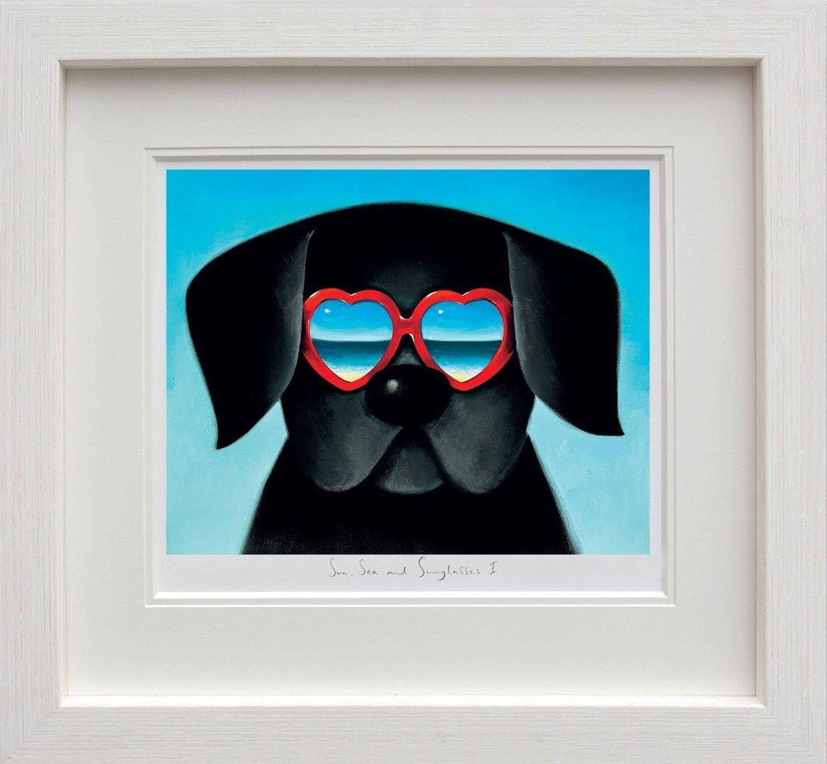 Sun, Sea and Sunglasses I by Doug Hyde - Limited Edition print ZHYD674