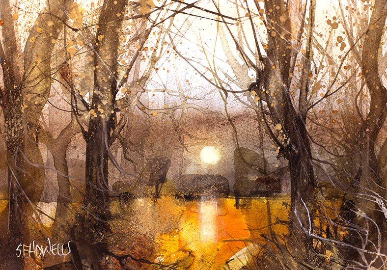 Early Morning Sun by Sue Howells - original painting