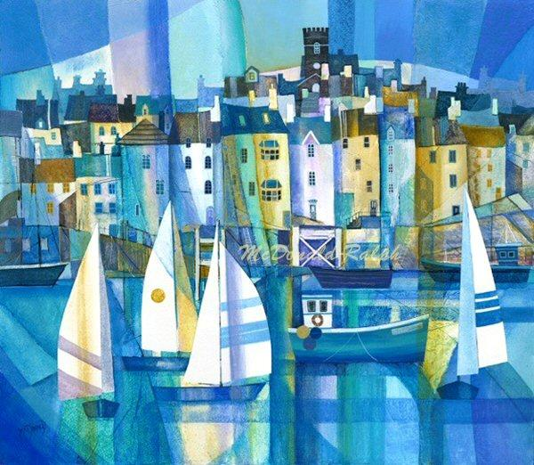 Dartmouth VIII by Gillian McDonald - landscape art print