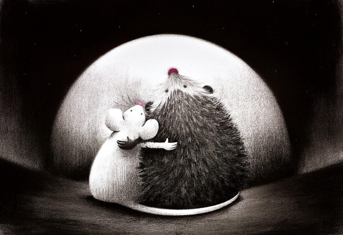 Best Friends by Doug Hyde - Limited Edition art print ZHYD709