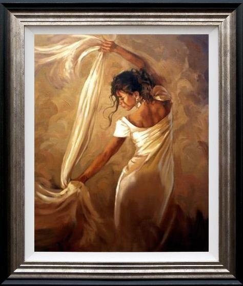 Dance of Satin by Mark Spain - Limited Edition art print MSE006