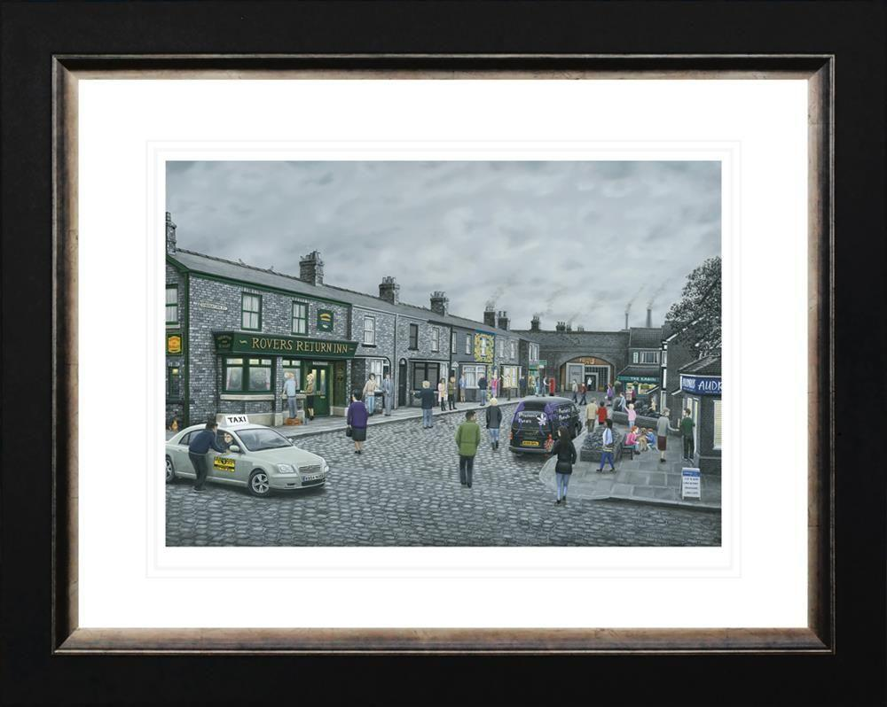 On the Cobbles by Leigh Lambert - Limited Edition art print LLE169P